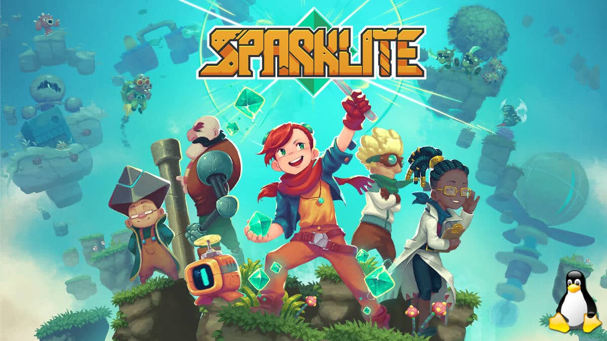 sparklite action adventure support comes tomorrow on linux alongside mac windows pc