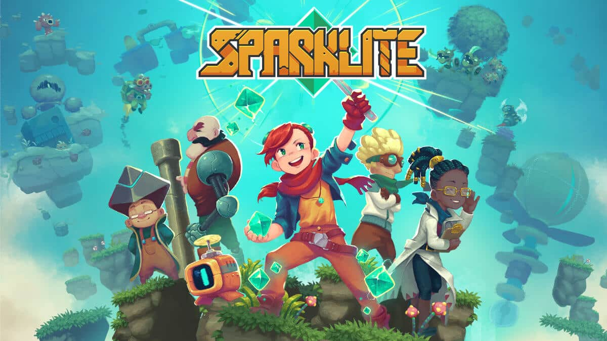 sparklite action adventure linux release and the latest update beside mac windows pc