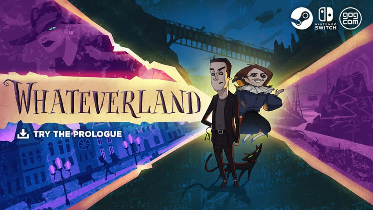 Whateverland point and click Kickstarter closing