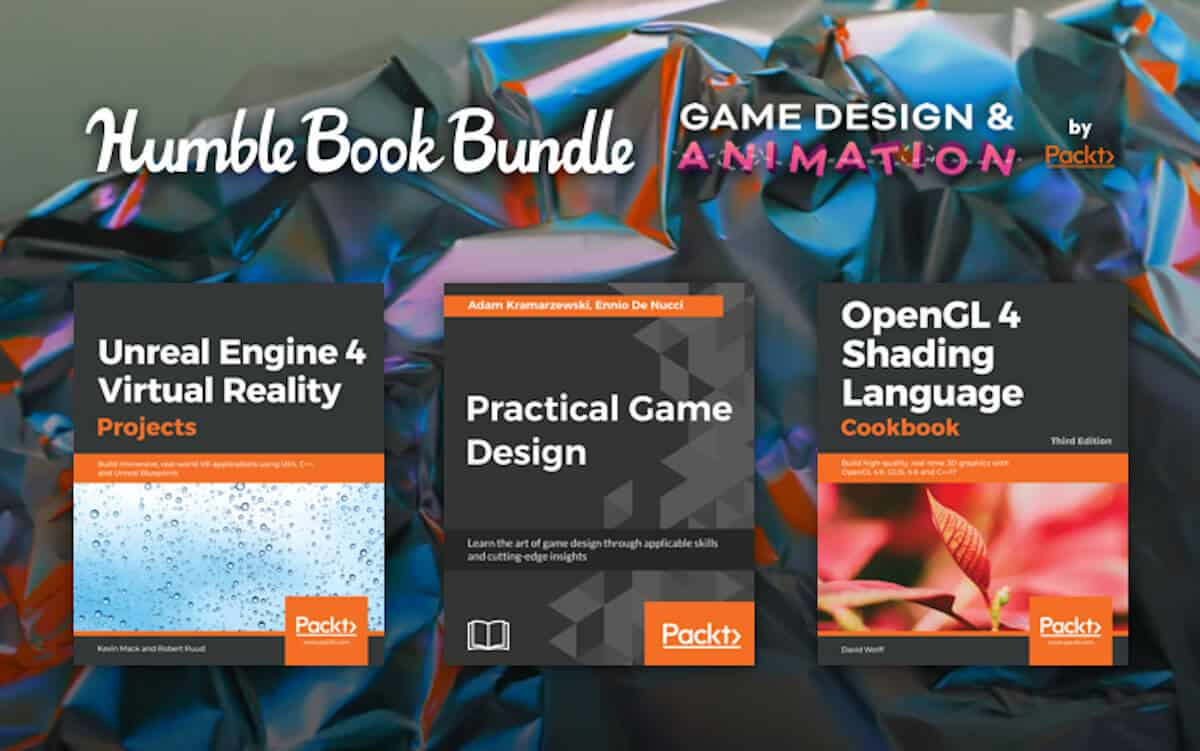 humble book bundle: game design & animation releases now for linux mac windows pc