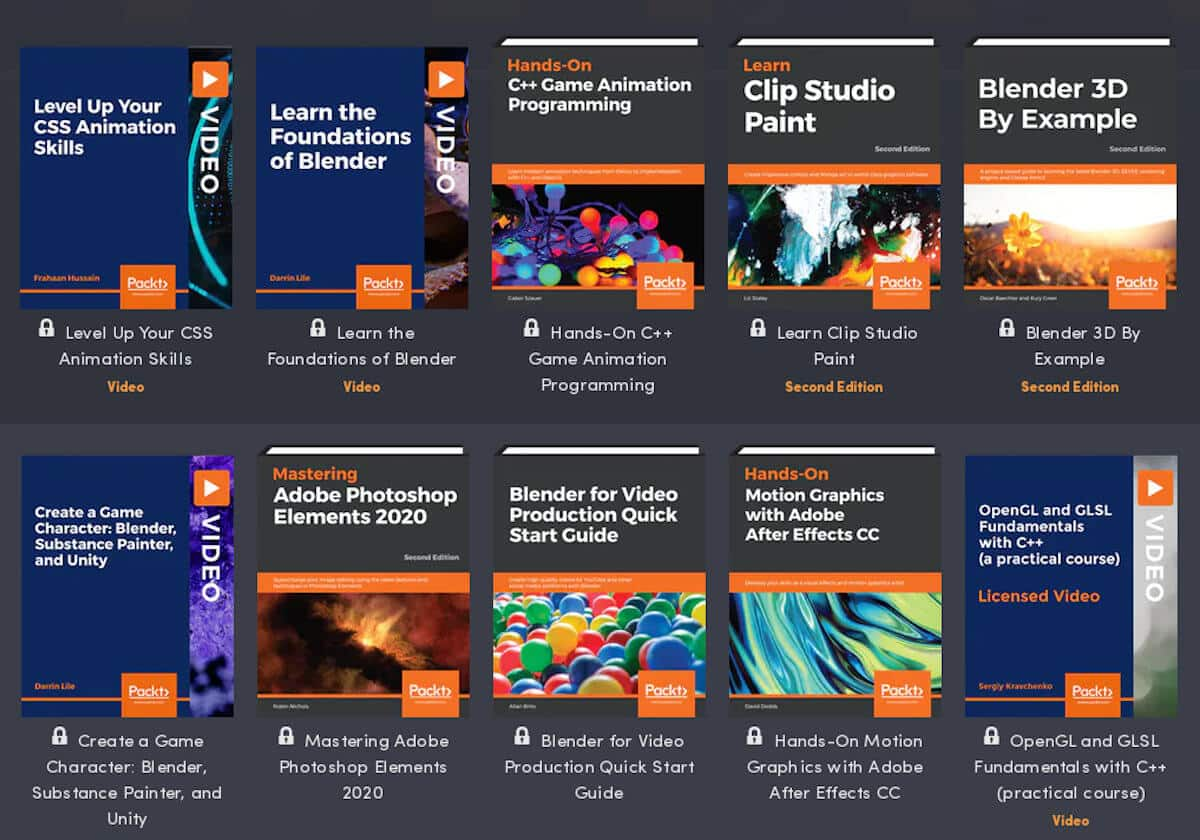 humble book bundle: game design & animation releases now for linux mac and windows pc