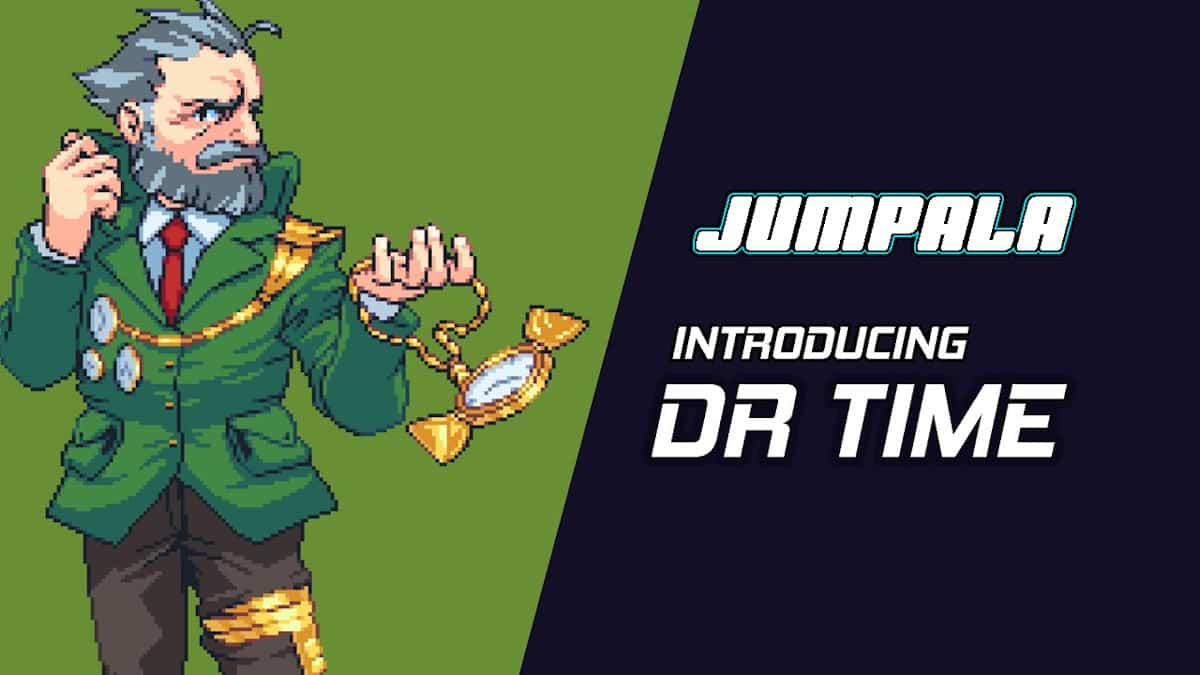 Jumpala gets a new character reveal – Dr. Time