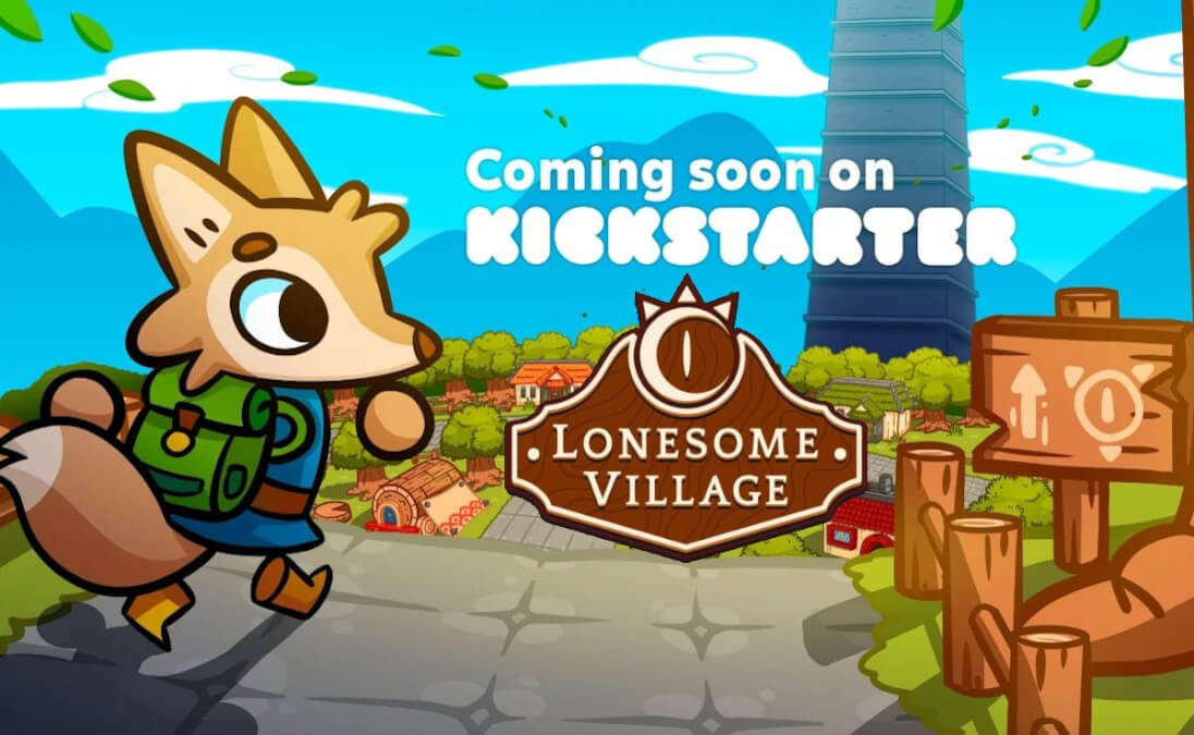 lonesome village is a new fantasy adventure game coming to kickstarter for linux and windows pc