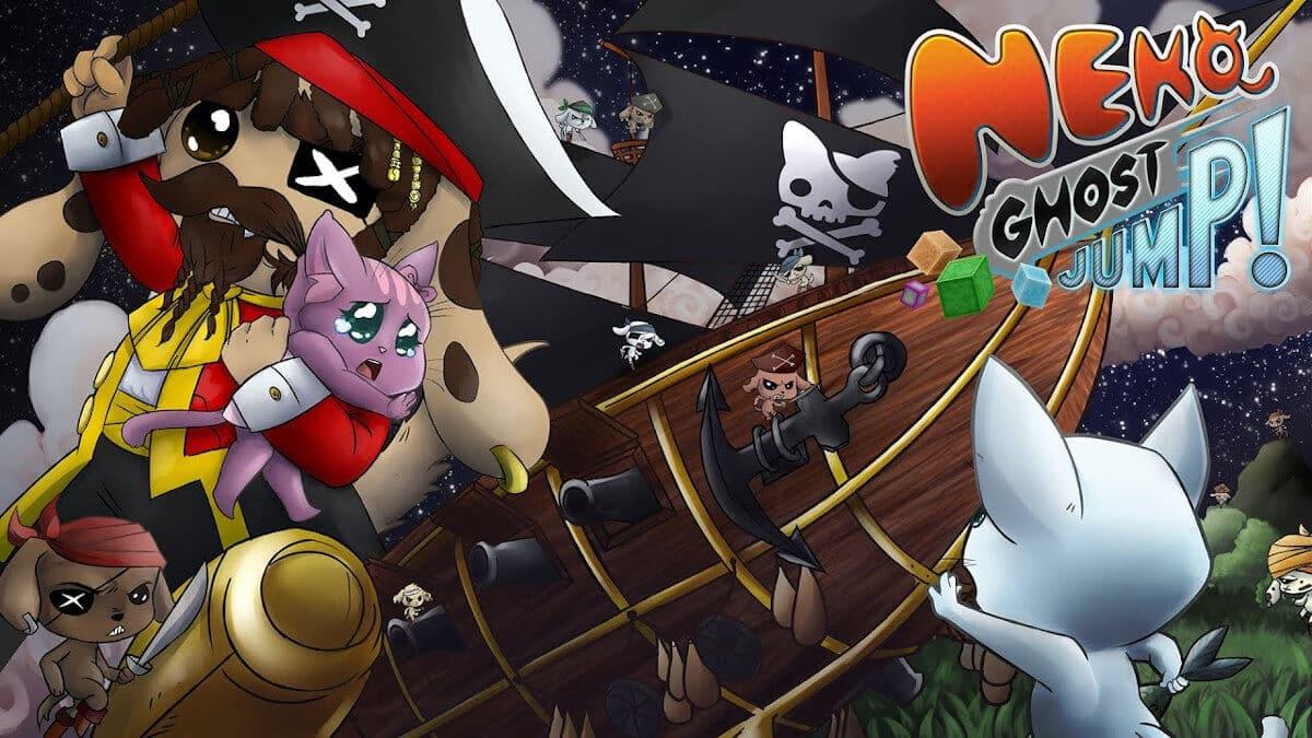 Neko Ghost Jump! Kickstarter platformer a success