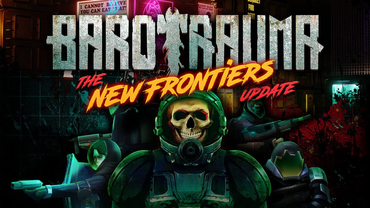 new frontiers the biggest update hits barotrauma on linux mac and windows pc for free