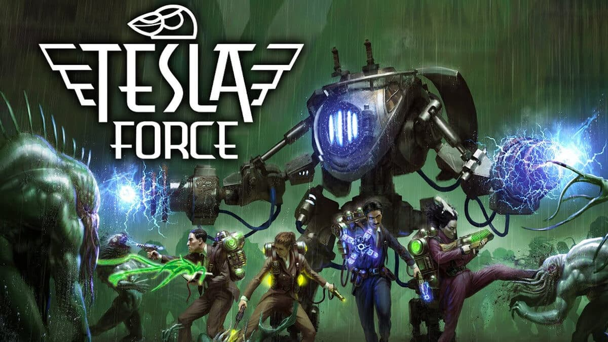 tesla force top down shooter is out on early access for windows pc then linux