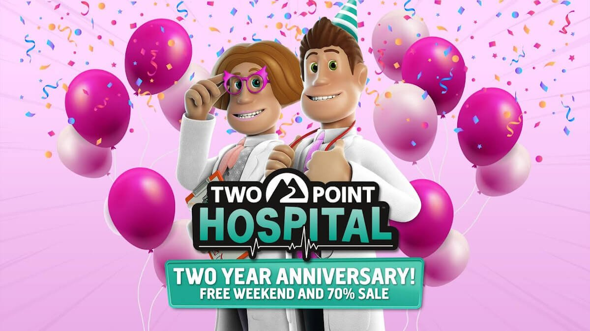 Two Point Hospital 2 yr anniversary Free Weekend