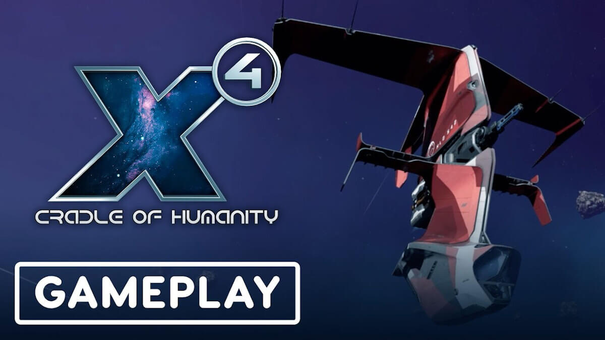 x4: cradle of humanity space action simulation next chapter reveal for linux and windows pc