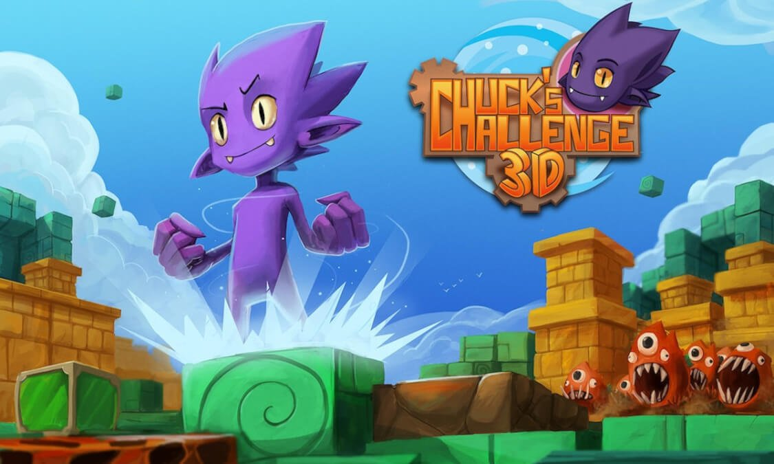 chuck's challenge 3D 2020 remaster out now in linux gaming mac windows pc chip's challenge 1 is free