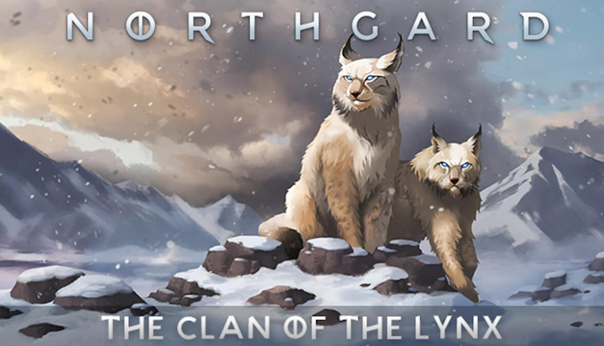 clan of the lynx releases now for northgard ready to game on linux mac and windows pc