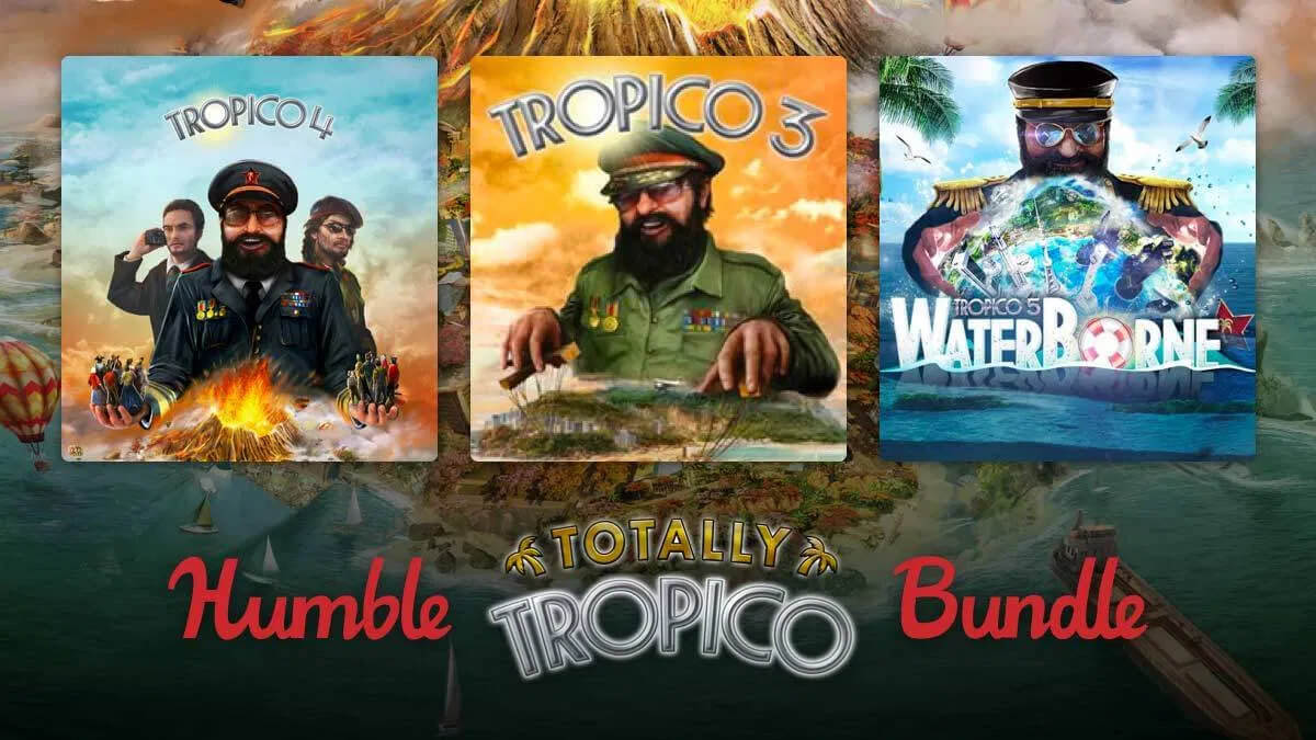 humble totally tropico bundle city builder lets you take control in linux gaming mac and windows pc