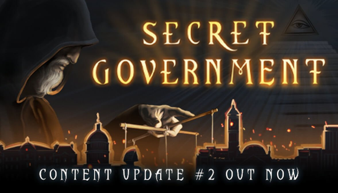 Secret Government gets a second major update