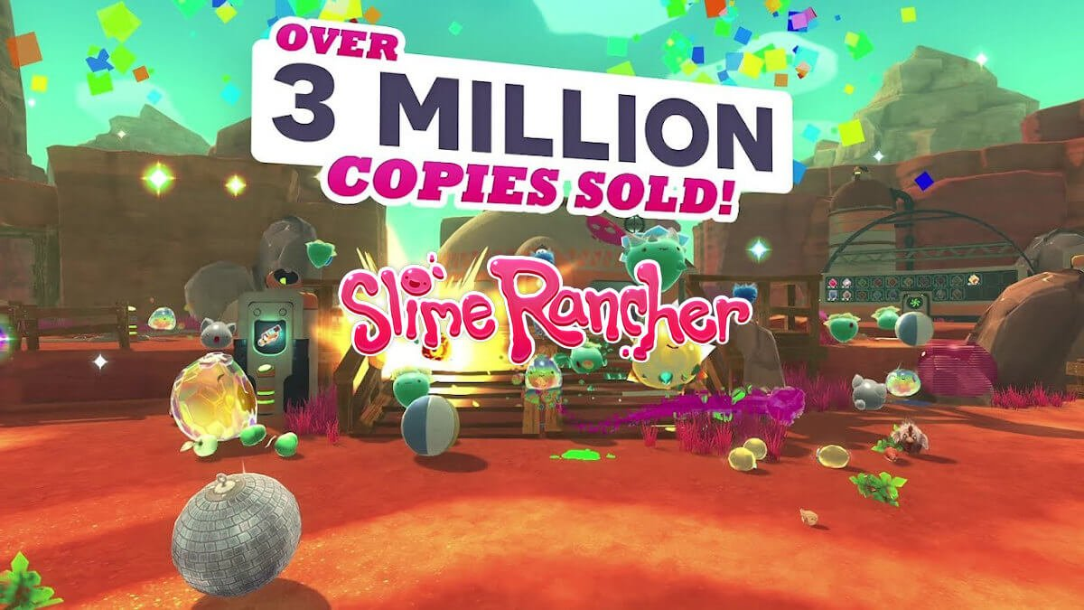 slime rancher hits 3 million unit sales milestone with a sale for the game on linux mac windows pc