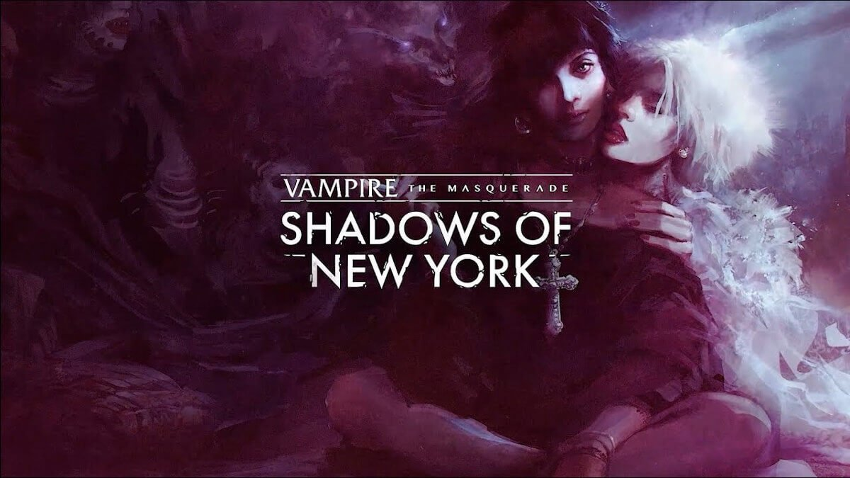 vampire:the masquerade - shadows of new york visual novel releases on linux mac and windows pc