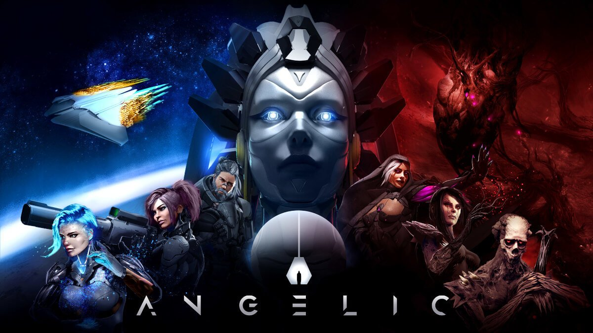 angelic is a sci-fi turn based strategy rpg for windows pc via kickstarter but also coming to linux gaming