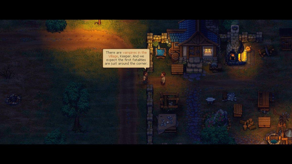 game of crone announced for graveyard keeper screenshot 01