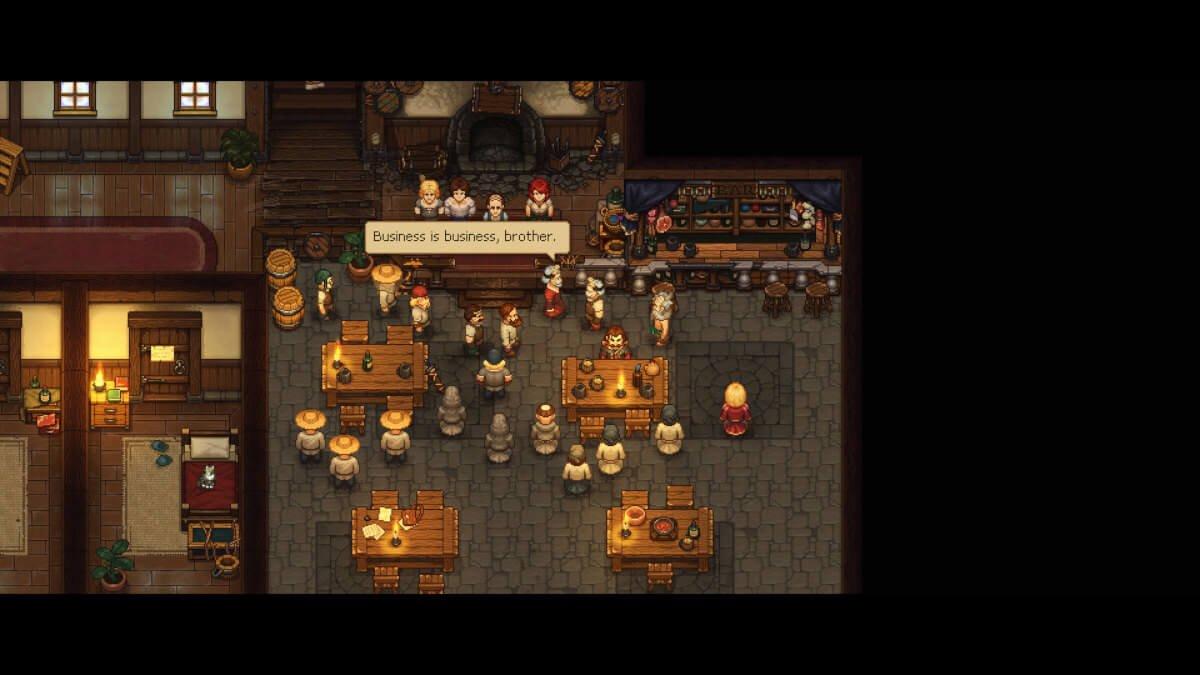 game of crone announced for graveyard keeper screenshot 03