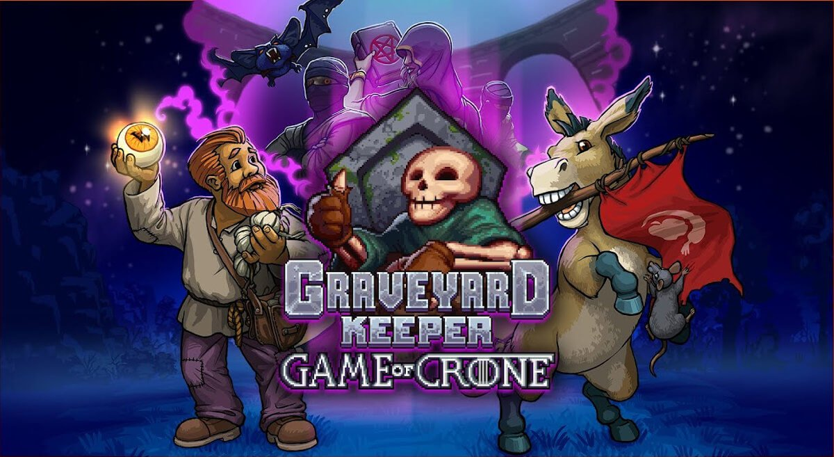 Game of Crone third DLC hits Graveyard Keeper