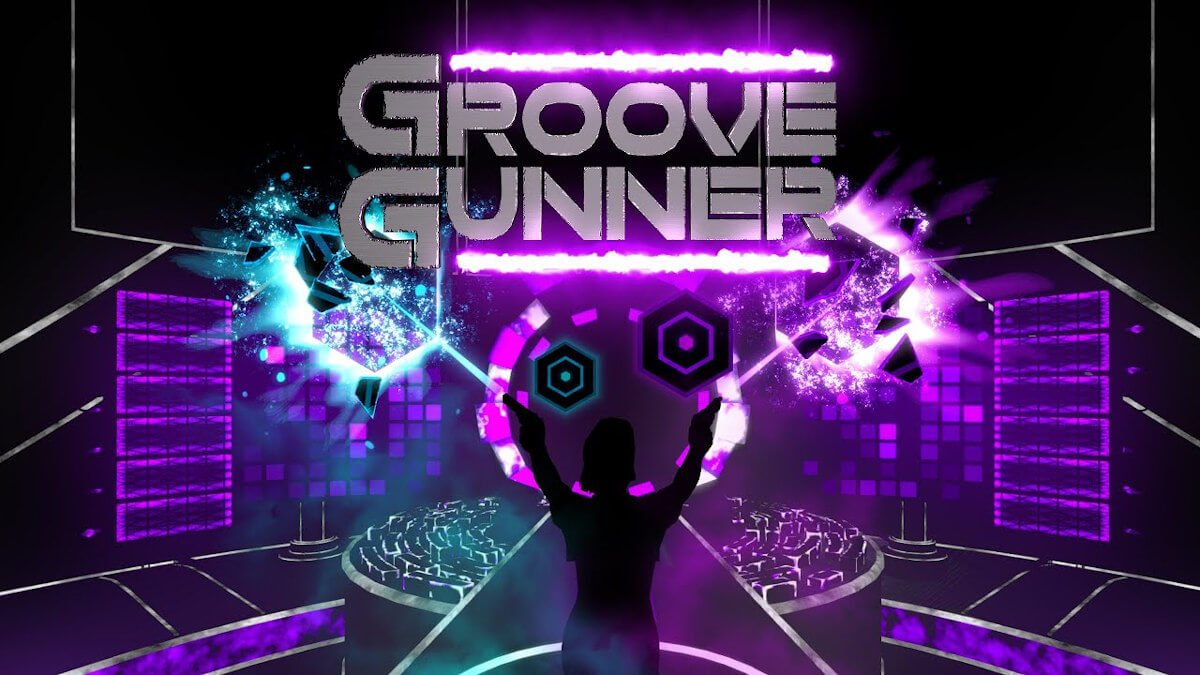groove gunner new vr rhythm shooter has a demo for the game on linux and windows pc