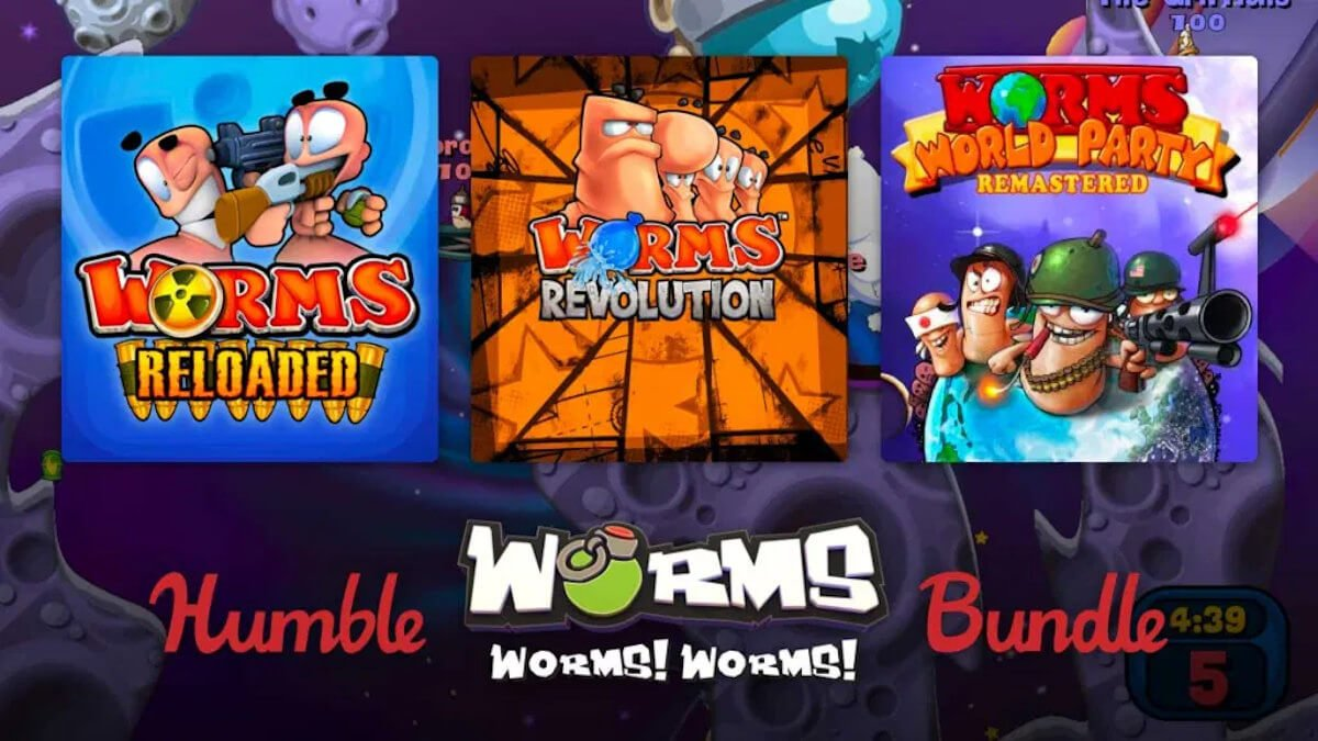 humble worms worms worms bundle releases now with support for linux mac windows pc