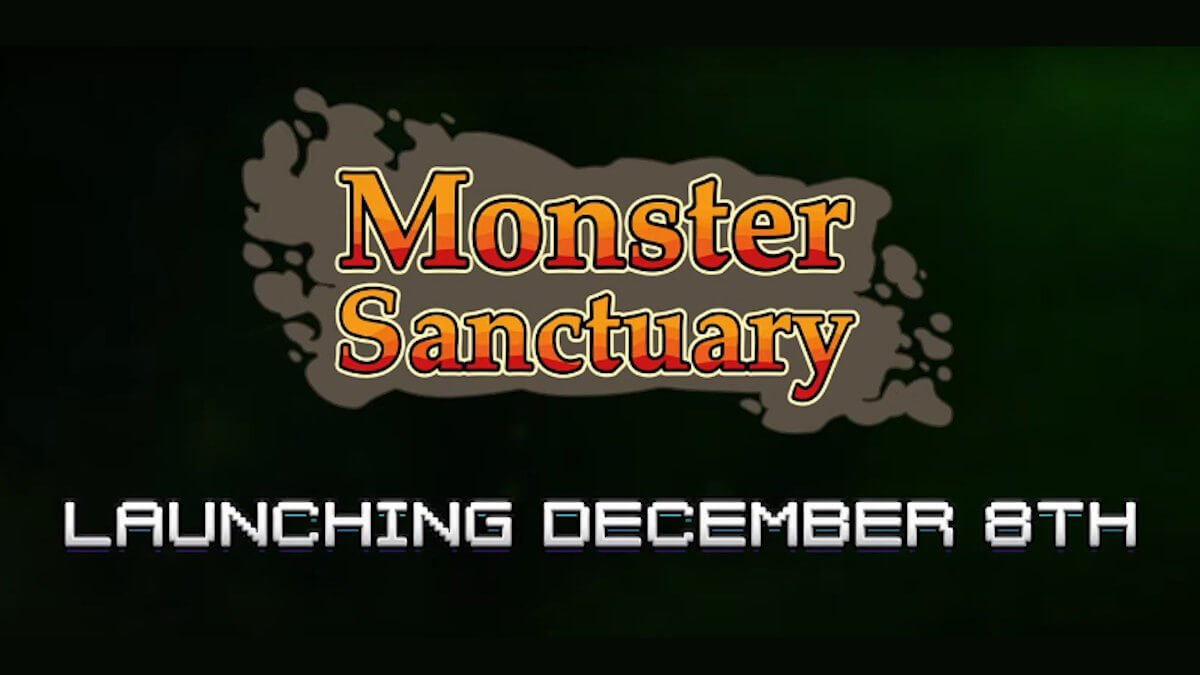 monster sanctuary adventure strategy now has a release date for the game on linux mac windows pc