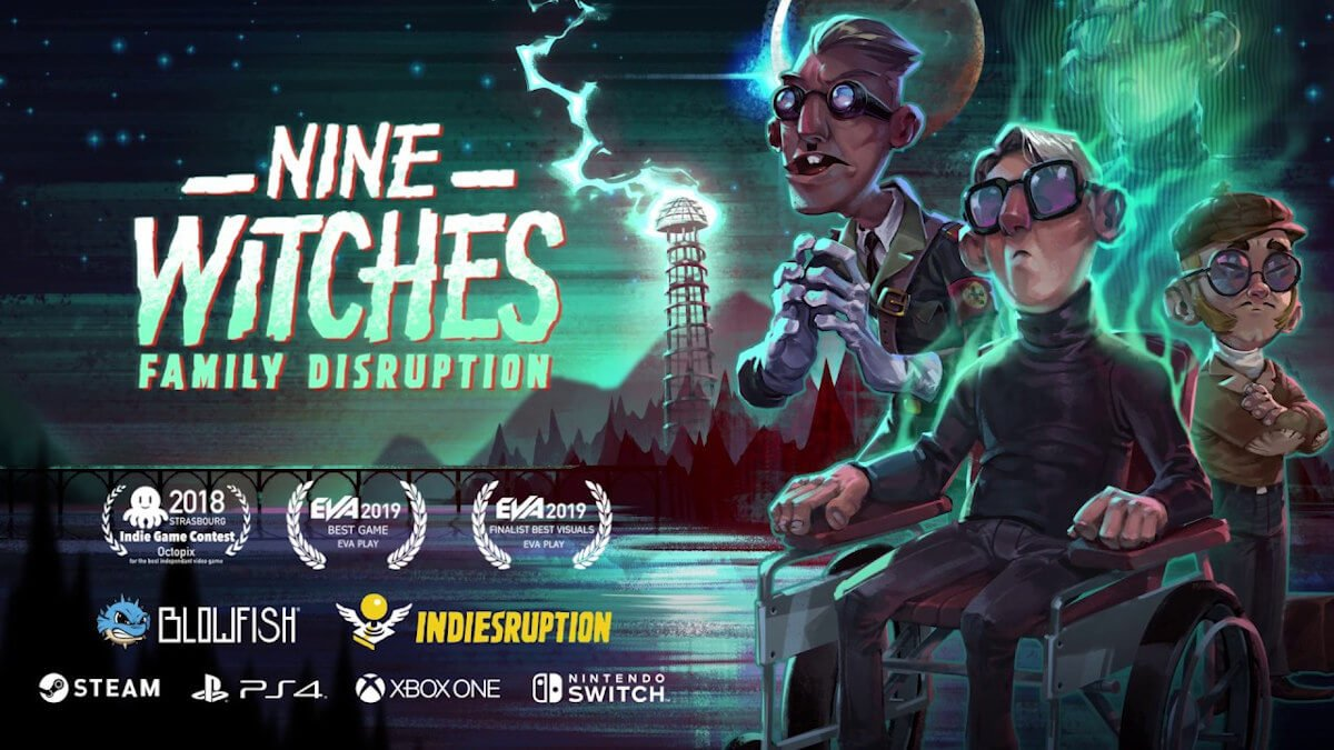 nine witches: family disruption point and click adventure needs your vote linux with windows pc