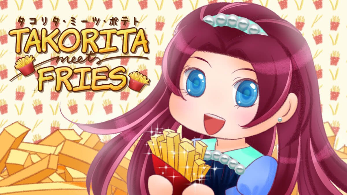 takorita meets fries a short visual novel about fries releases in linux gaming mac windows pc
