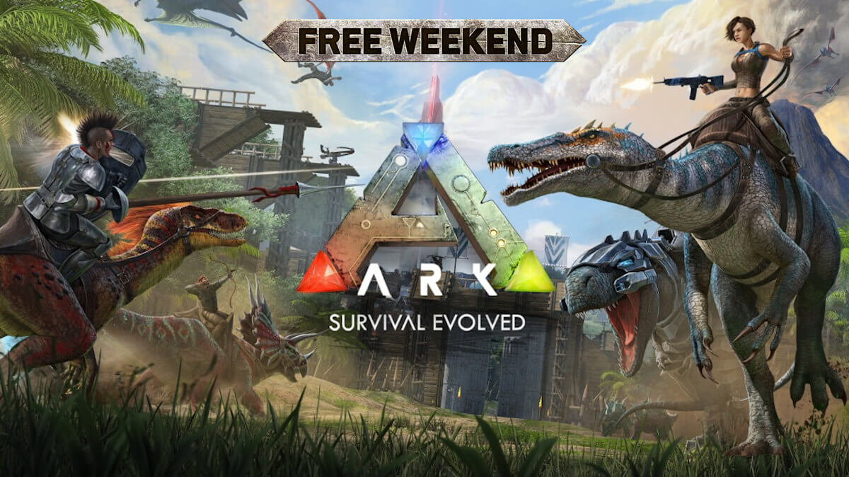 ark: survival evolved gets a steam free weekend on linux mac and windows pc