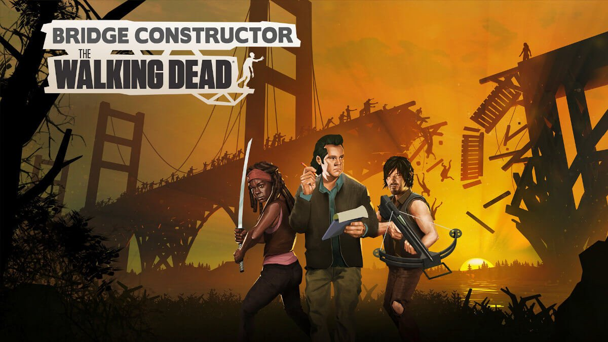 Bridge Constructor: The Walking Dead is out now