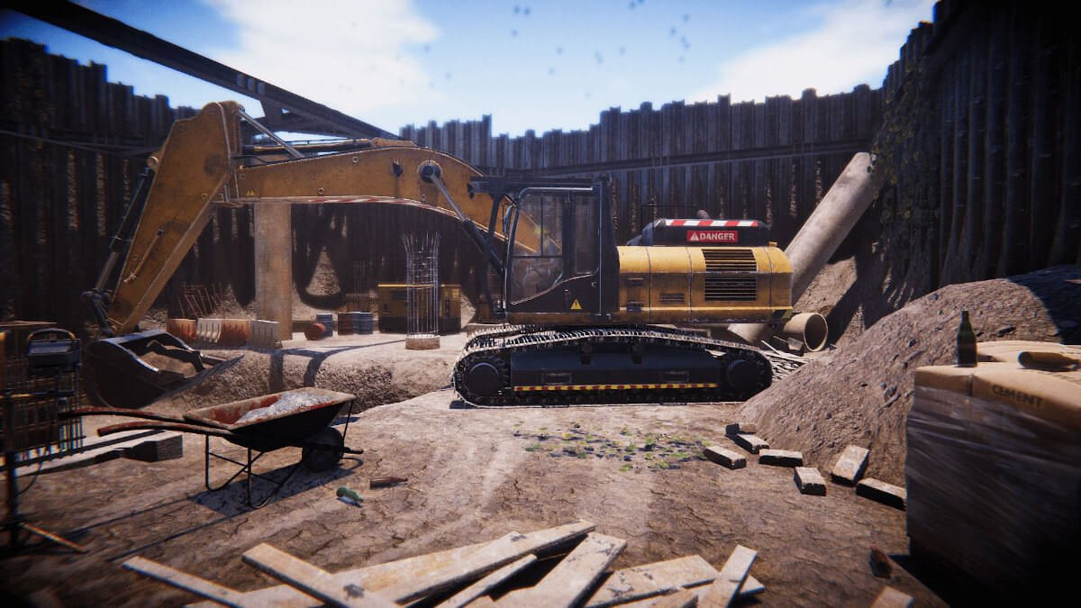 construction worker simulator screenshot 1