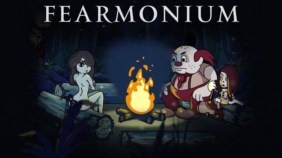 fearmonium a unique psychedelic metroidvania announced for linux mac windows pc