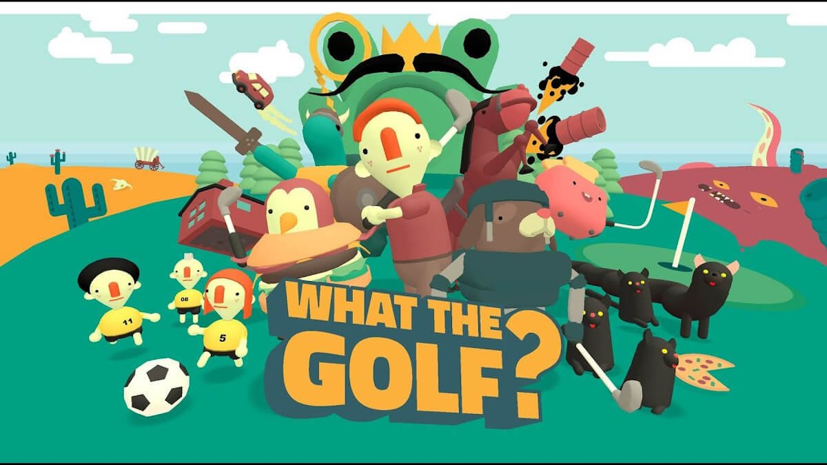 WHAT THE GOLF? parody game is worth a vote