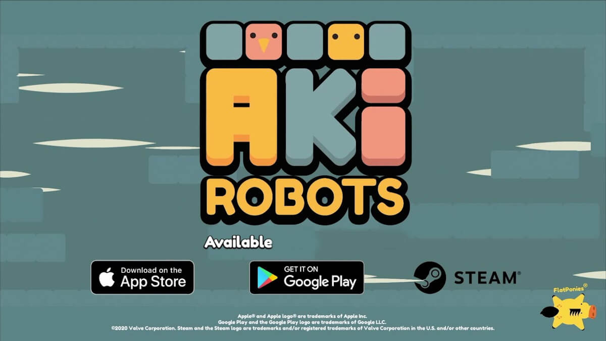 #akirobots 2d puzzle platformer gets a release in linux gaming mac and windows pc