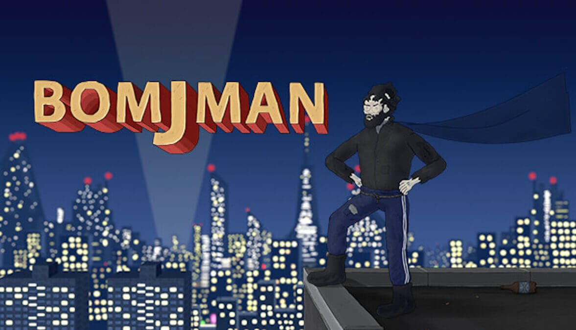 bomjman grim beat 'em up due to get support in linux gaming and windows pc