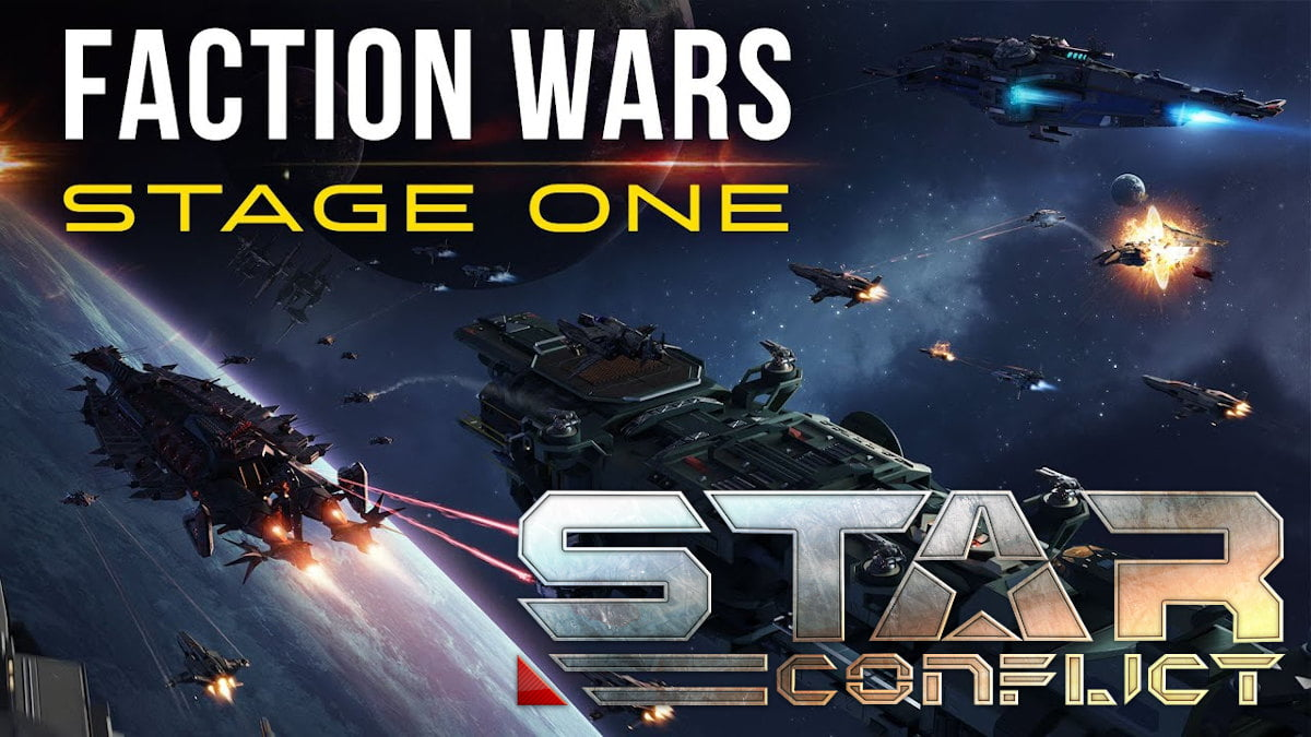 Faction wars hits the online action of Star Conflict