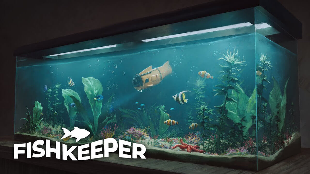 Fishkeeper watch the relaxing gameplay