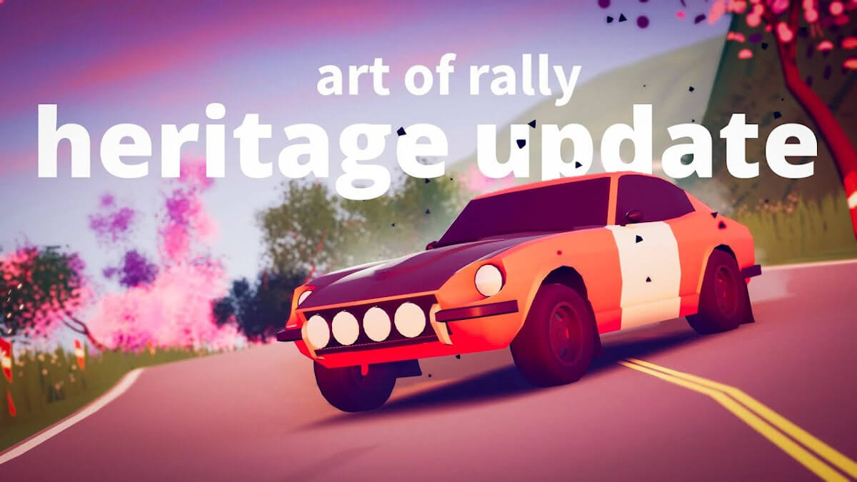 Heritage Update releases free for art of rally
