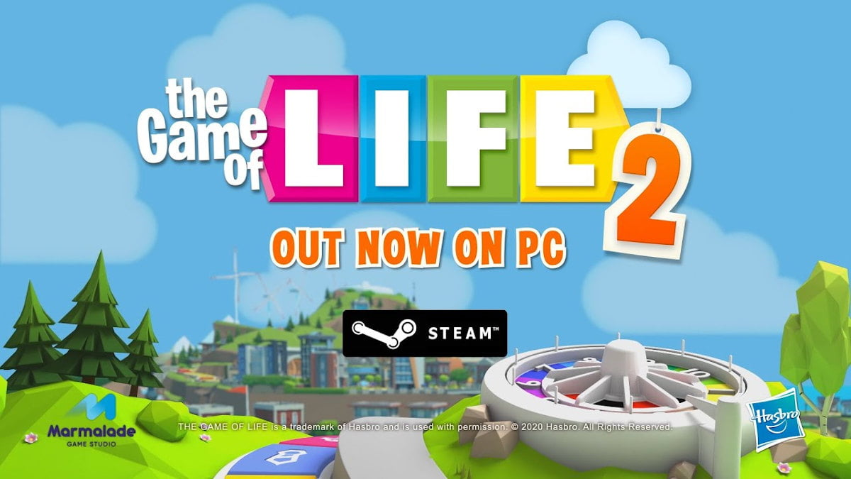 THE GAME OF LIFE 2 board game to get support