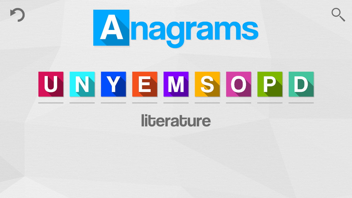 anagrams releases 1400 levels to challenge you in linux gaming mac and windows pc