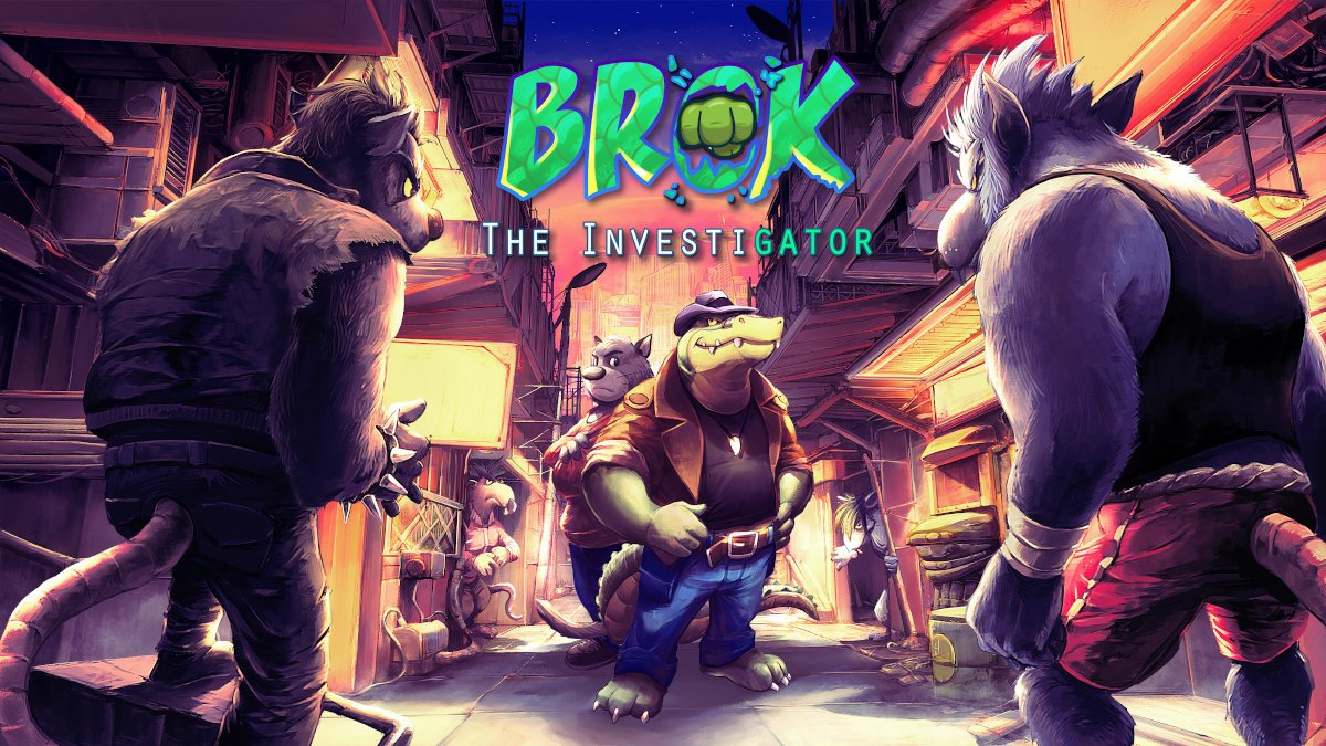 BROK the InvestiGator is now out on Kickstarter
