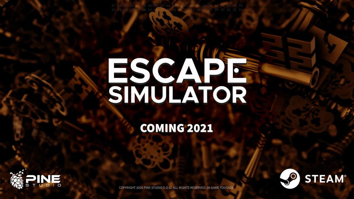 Escape Simulator puzzle simulator hits Alpha