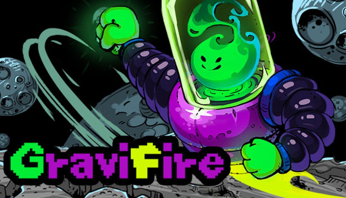 gravifire logic puzzle game releases now on steam in linux gaming with windows pc