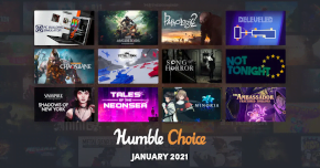 what games are in humble choice january 2021