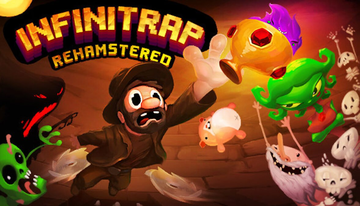 infinitrap: rehamstered hardcore platformer releases in linux gaming mac and windows pc