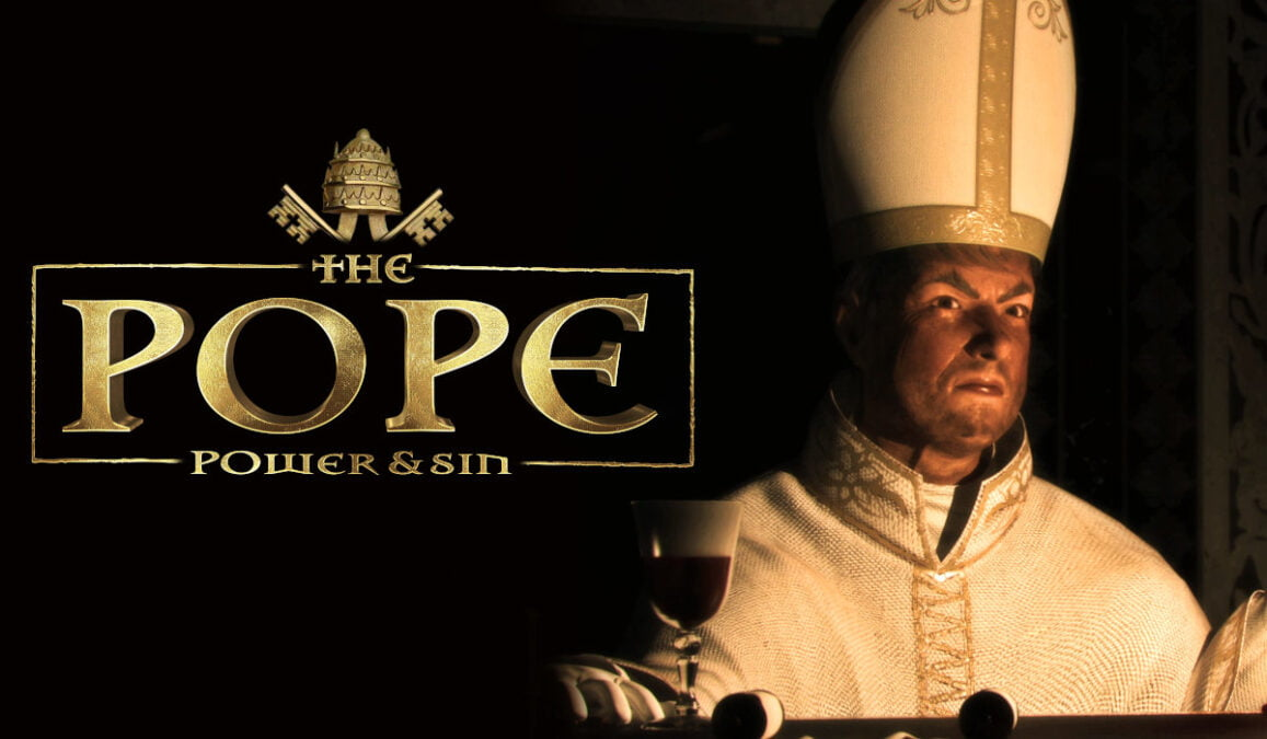 the pope: power & sin simulation strategy should see a port in linux gaming with windows pc
