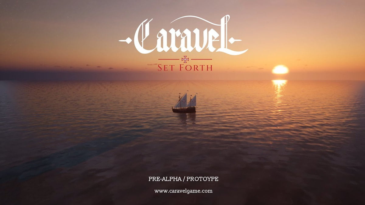 caravel: set forth crew management simulation talk native port for linux with windows pc