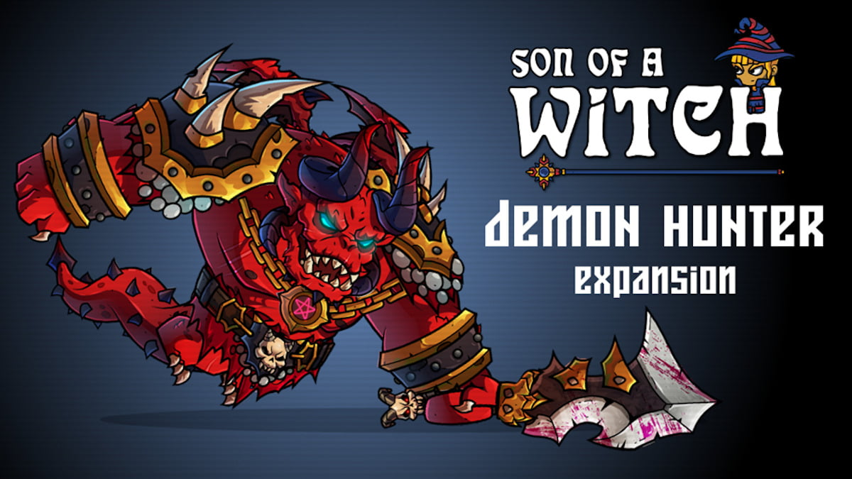 demon hunter expansion coming for son of a witch in linux gaming mac and windows pc