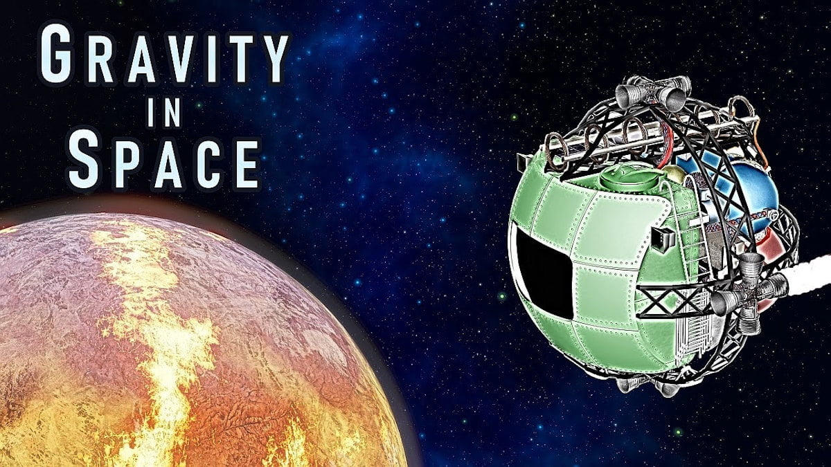 gravity in space is a unique sim and action shooter for linux and windows pc