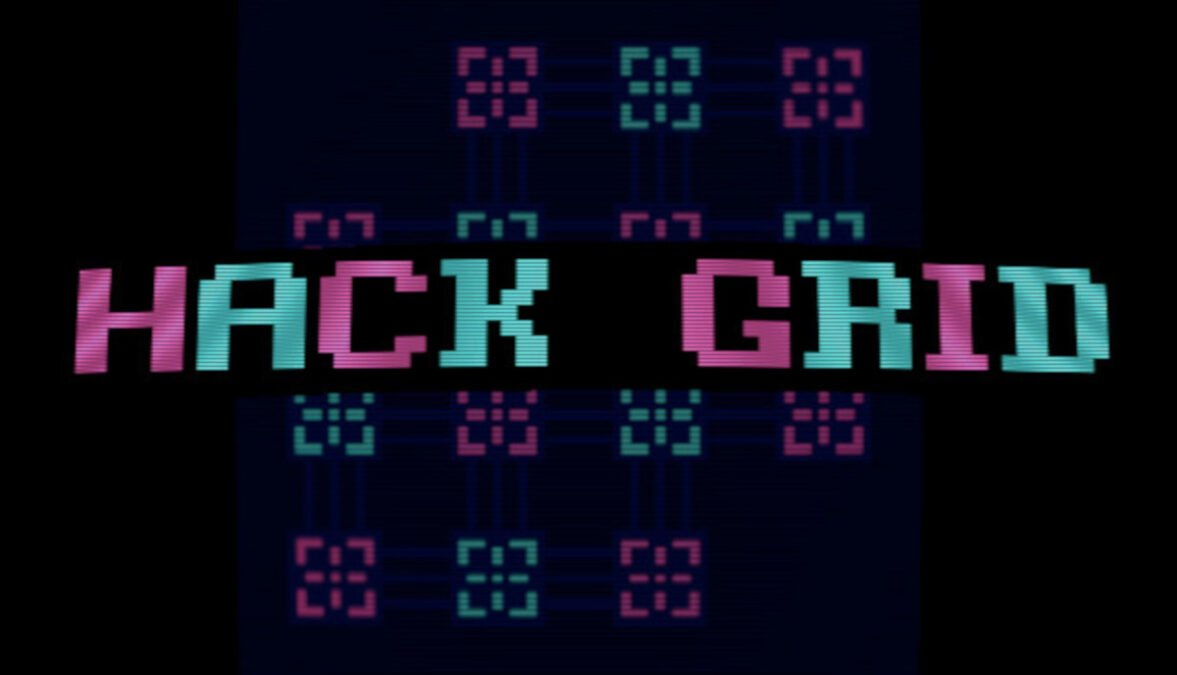 hack grid hacking themed puzzle game releases in linux gaming mac and windows pc