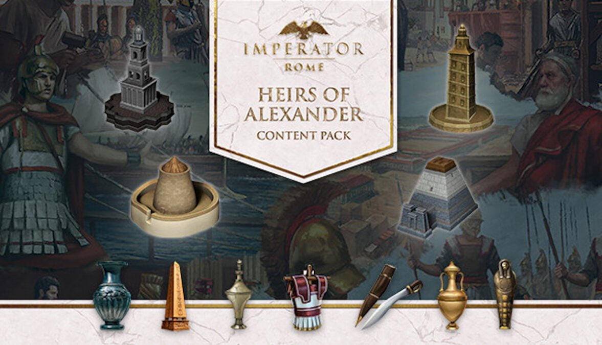 Heirs of Alexander announced for Imperator: Rome